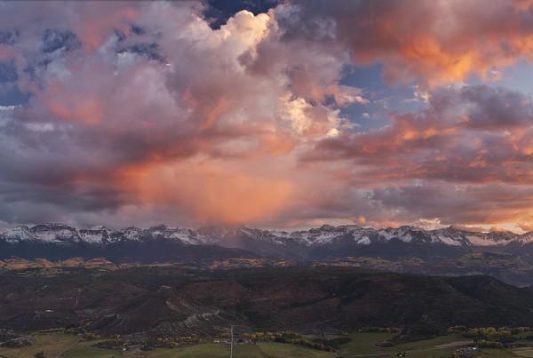 Above Dallas Divide Colorado Pano