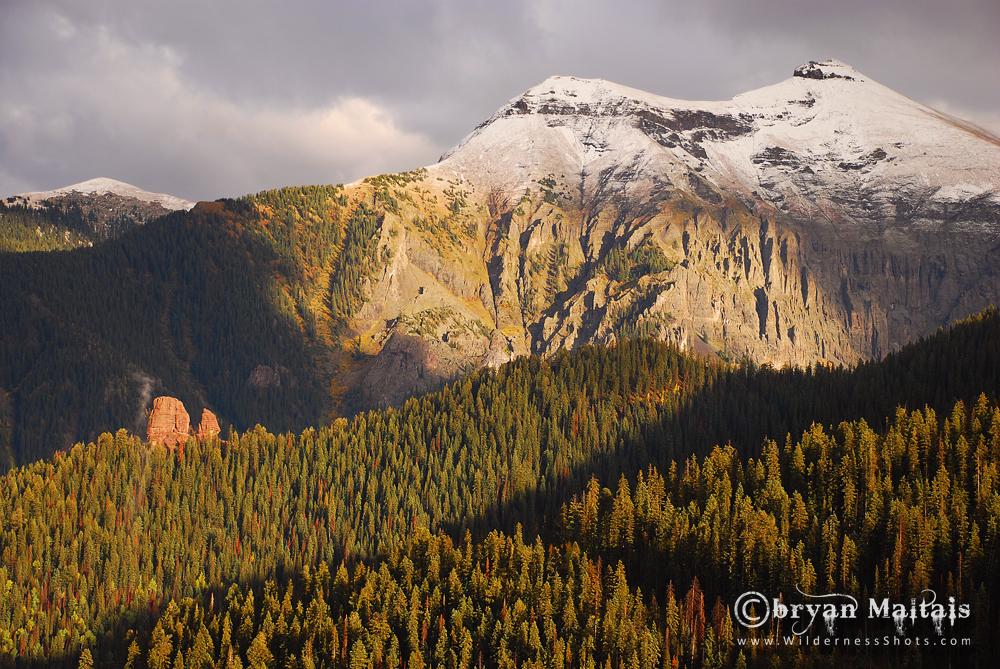 Ballard Mountain Telluride Colorado