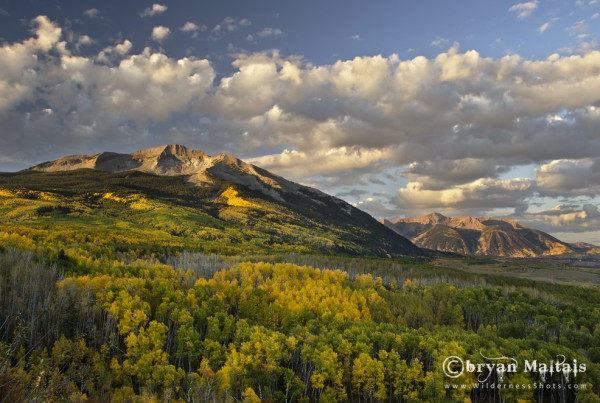 Beckwith Peaks Crested Butte Colorado