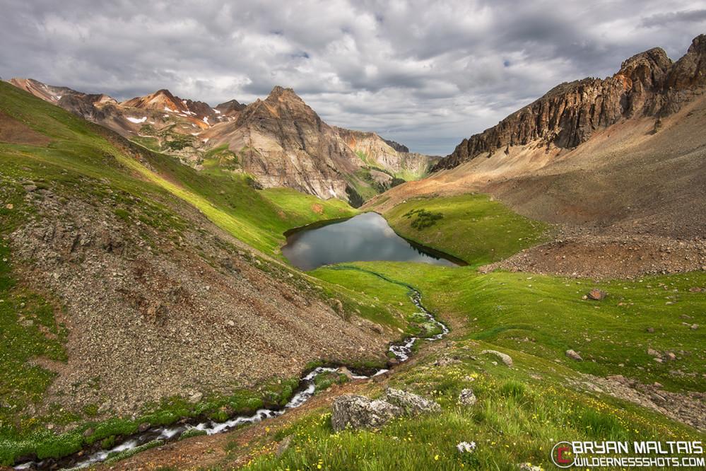 Blue Lakes Colorado San Juan Mountains