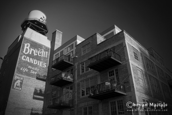 Brecht Candies Denver Colorado Black and White