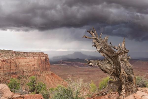 Canyonlands National Park Storm