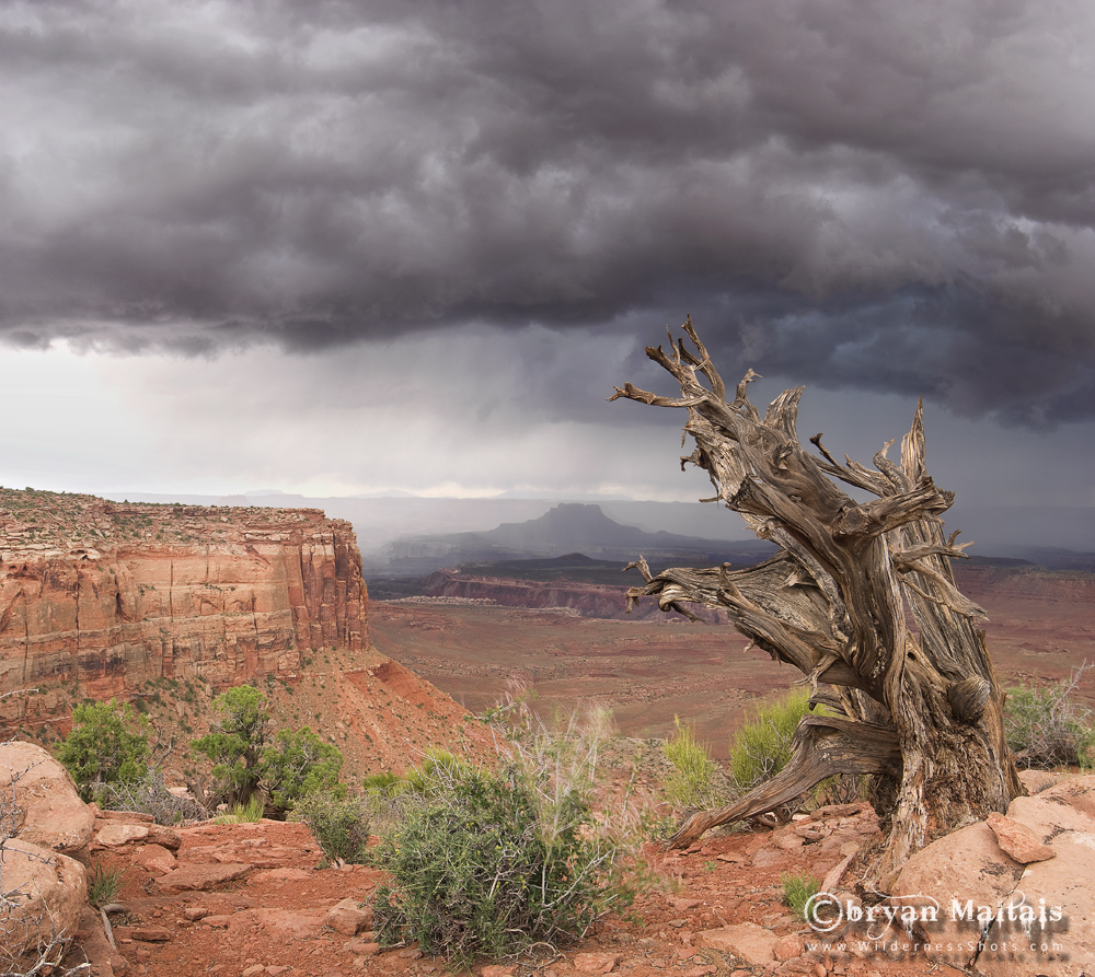 Canyonlands National Park Storm