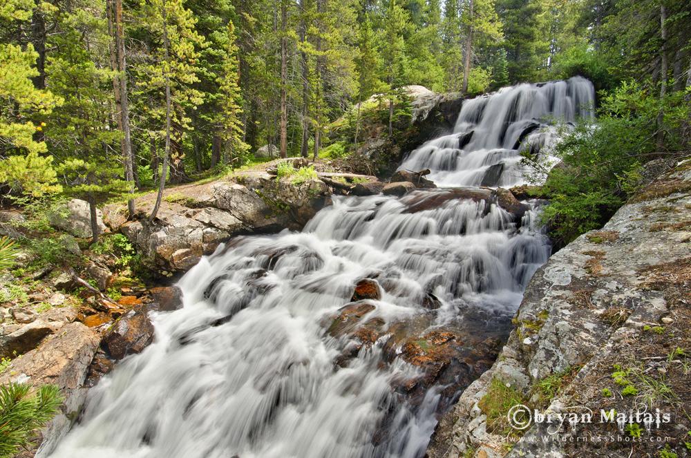 Cascade Creek Falls Colorado