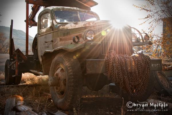 Vintage Junker Chain Truck