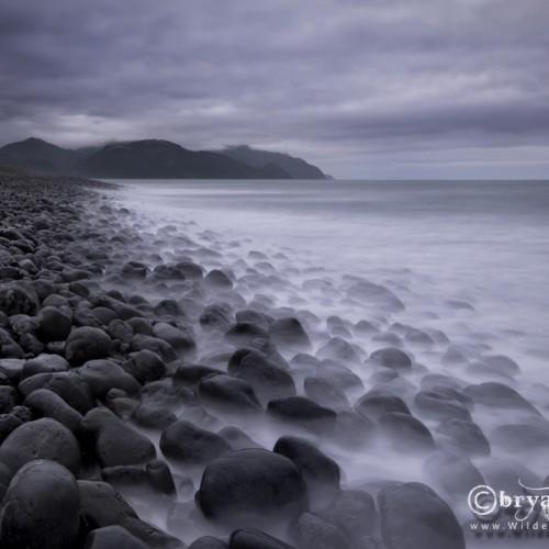 Kaikoura Rock Beach New Zealand