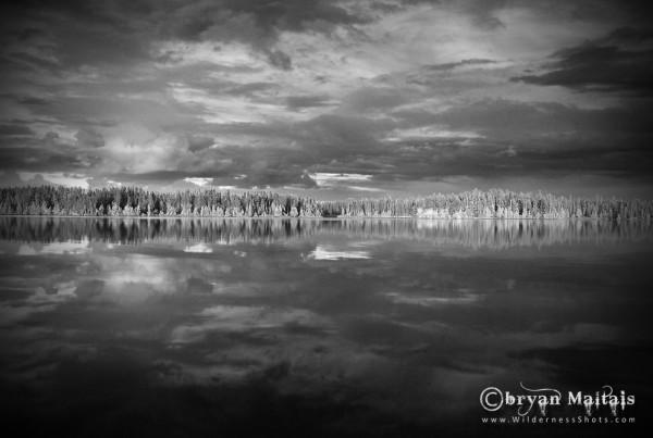 Lake Kenoji Black and White