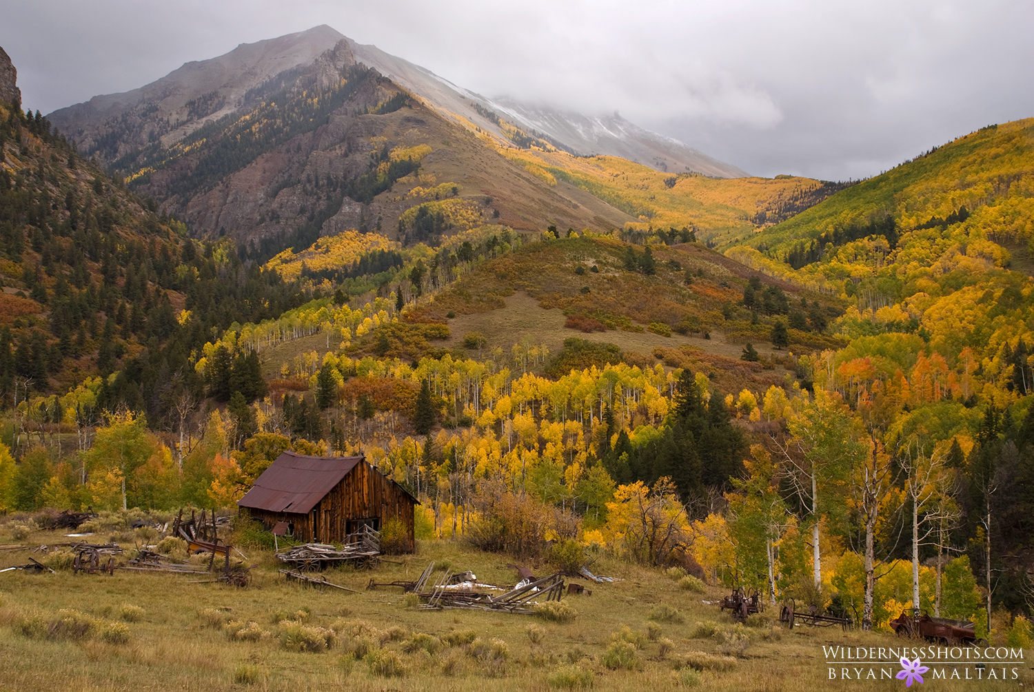 Mountain Farmhouse, San Juan Mountains, Colorado