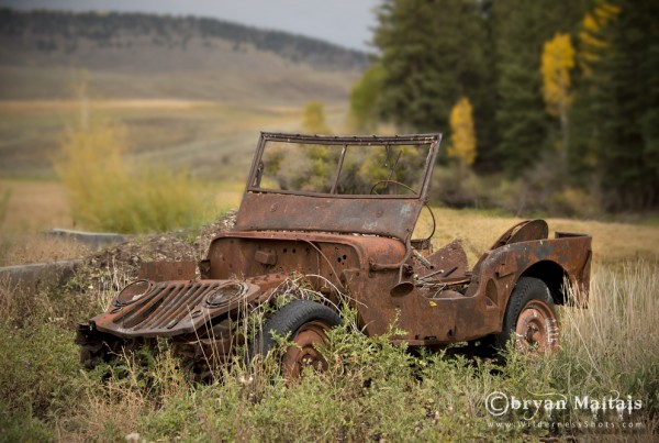 Old Junker Willys Jeep