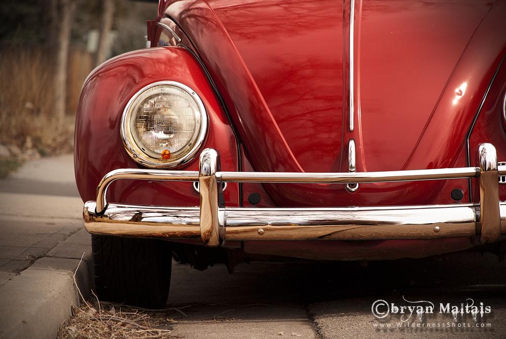 Red Volkswagon Beetle