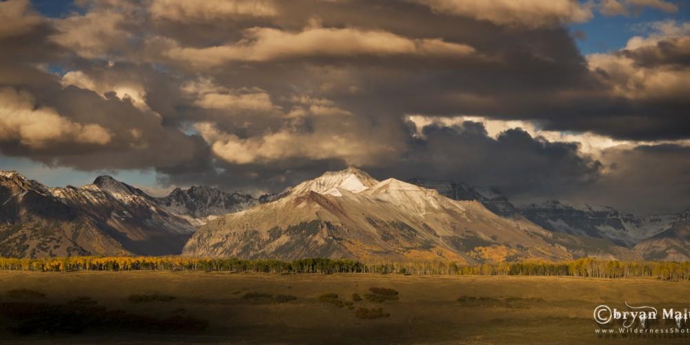San Juan Mountains Panoramic, Colorado