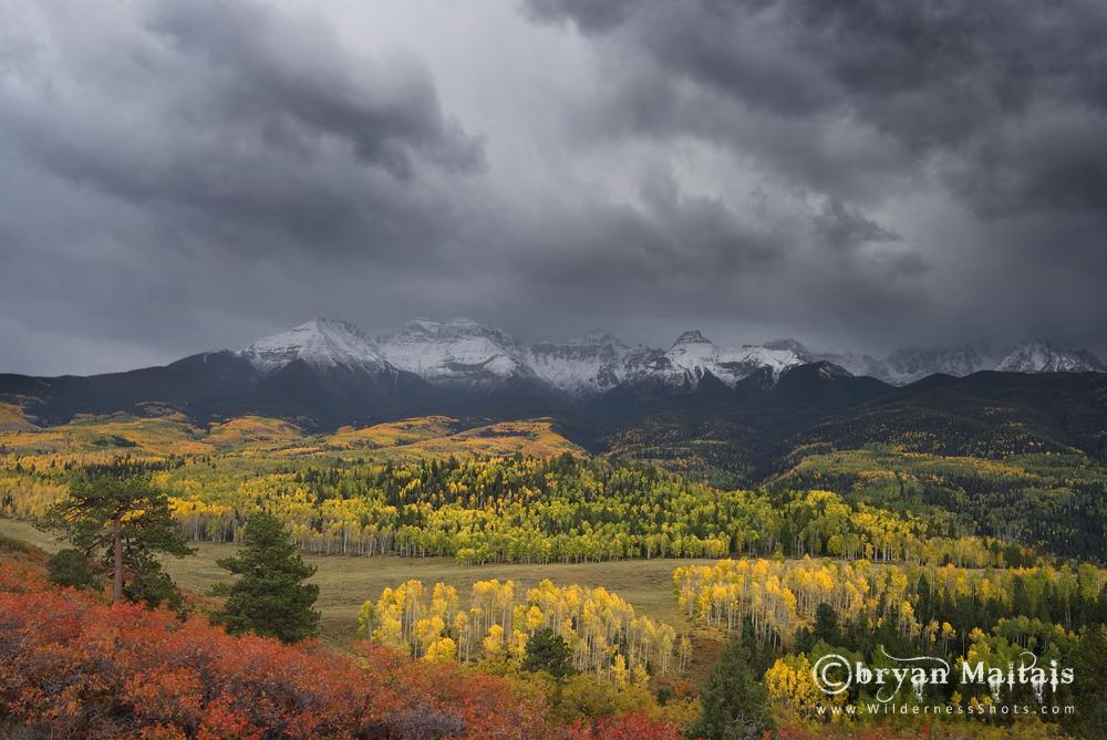 Sneffels Range Storm, Colorado