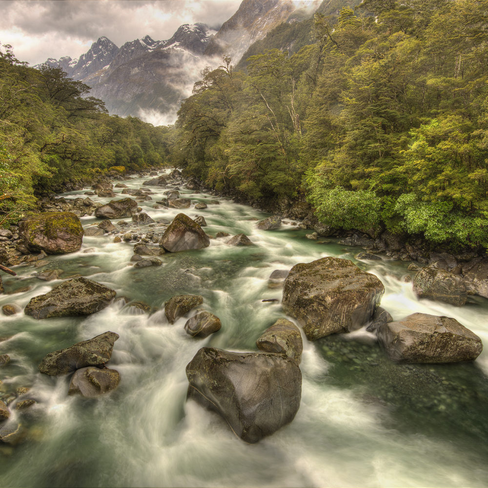 Tutoko River New Zealand