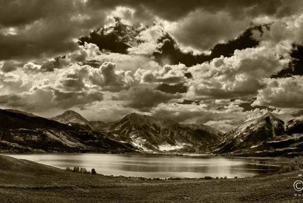 Twin Lakes, Colorado, Panoramic