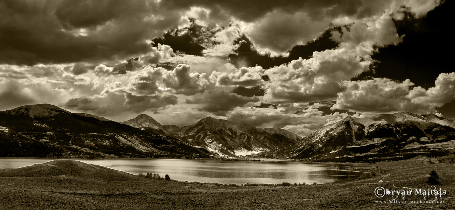 Twin Lakes, Colorado, Panoramic