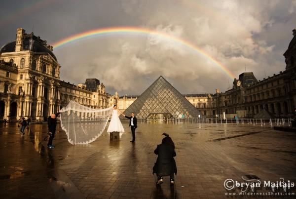 Louvre Rainbow Paris