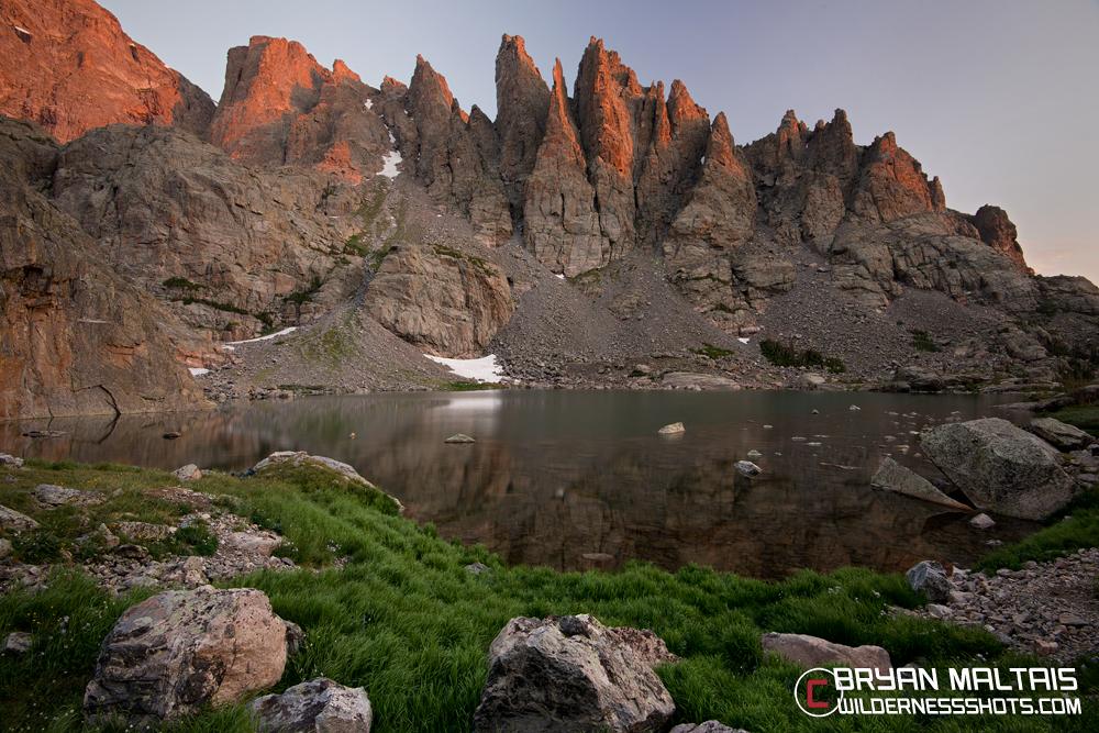 Sky Pond RMNP Colorado