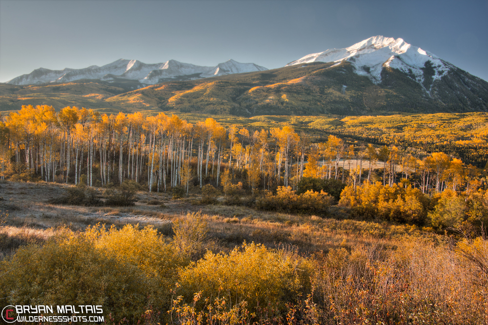 Beckwith Peaks Kebler Pass Rd Crested Butte Colorado