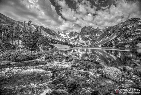Lake-Isabelle-Monochrome