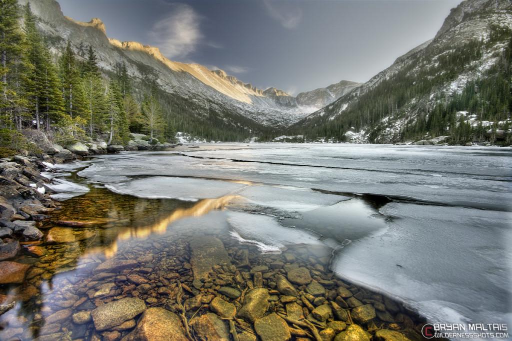 Mills Lake Colorado Rocky Mountain National Park