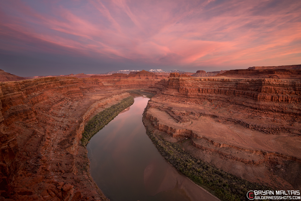 Colorado River Sunset