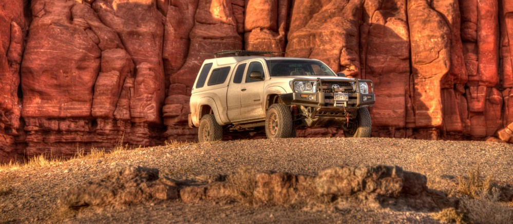 Toyota-Tacoma-Overlanding-Off-Road Bryan Maltais