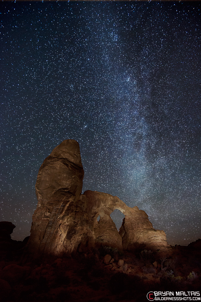 Astrophotography At Arches Night Photography How To
