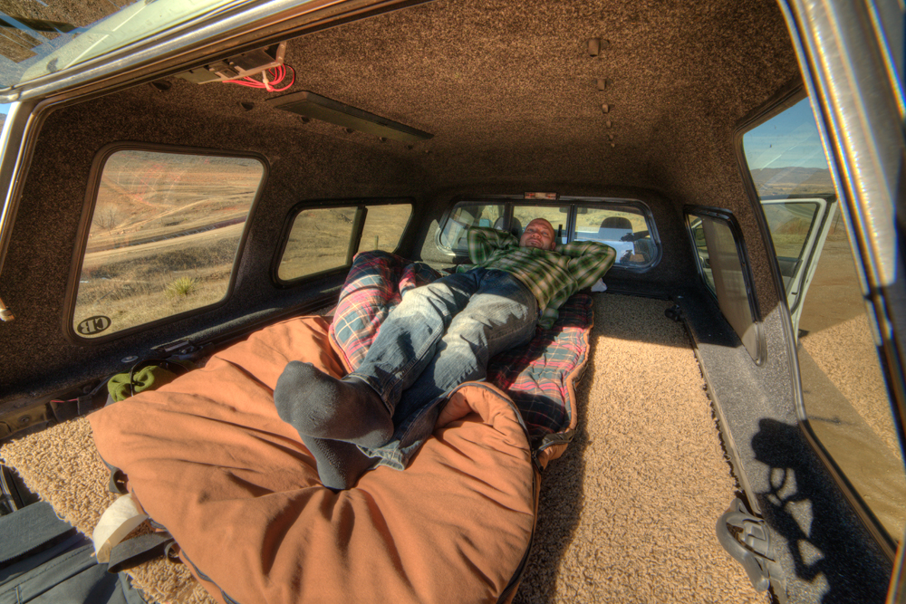 Truck Bed Storage Sleeping Platform