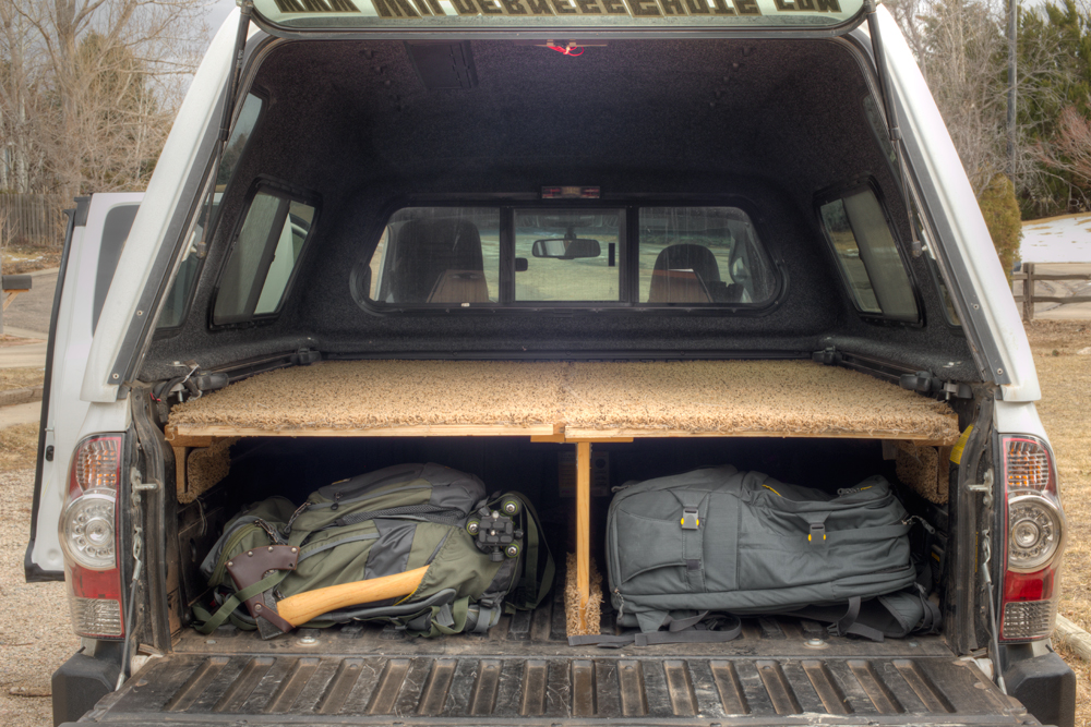 How To Build A Raised Bed Floor In Truck
