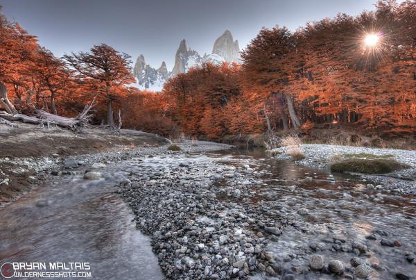 el chalten patagonia fall colors fitz roy