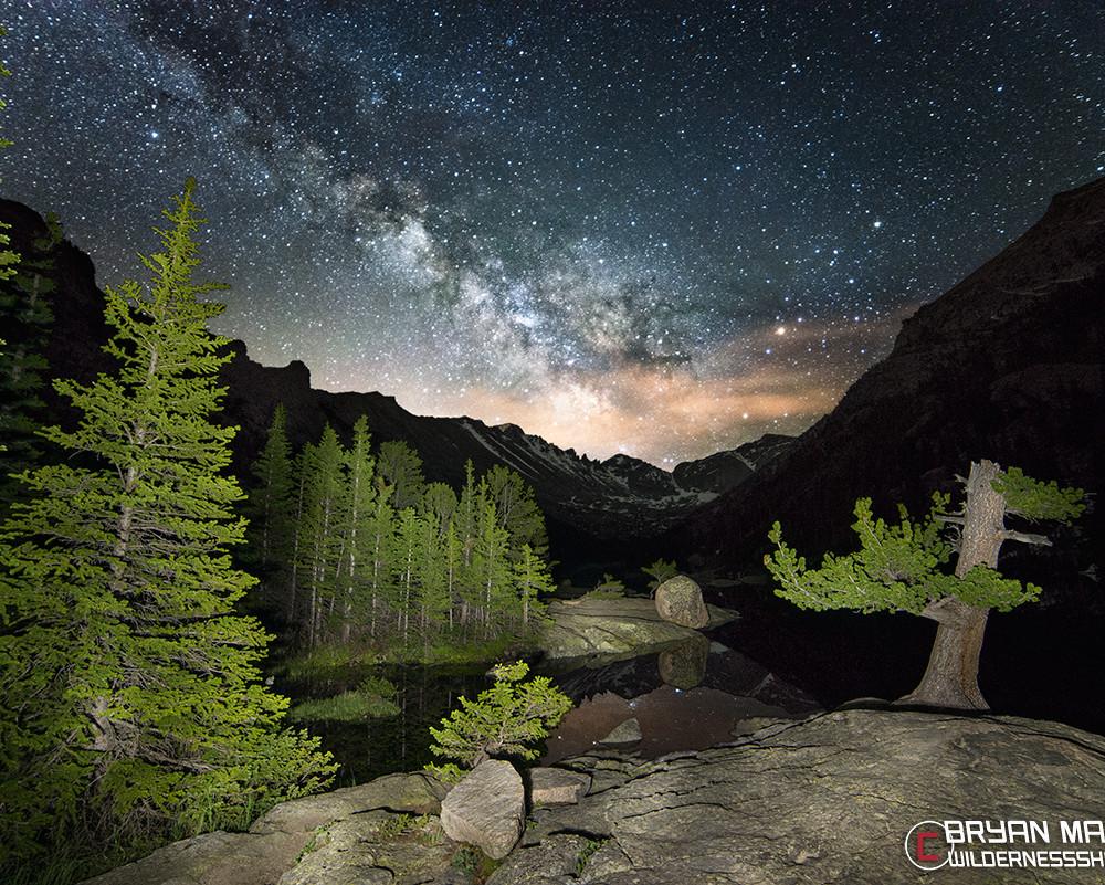 Rocky Mountain National Park Colorado Milky Way