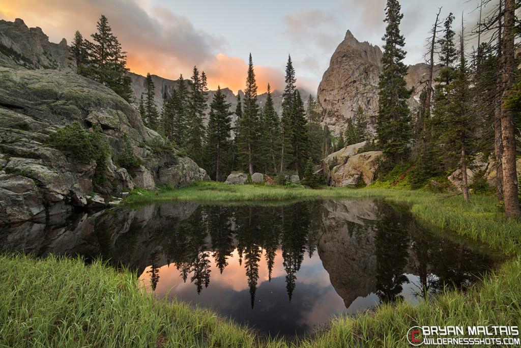Lone Eagle Peak Sunrise Colorado