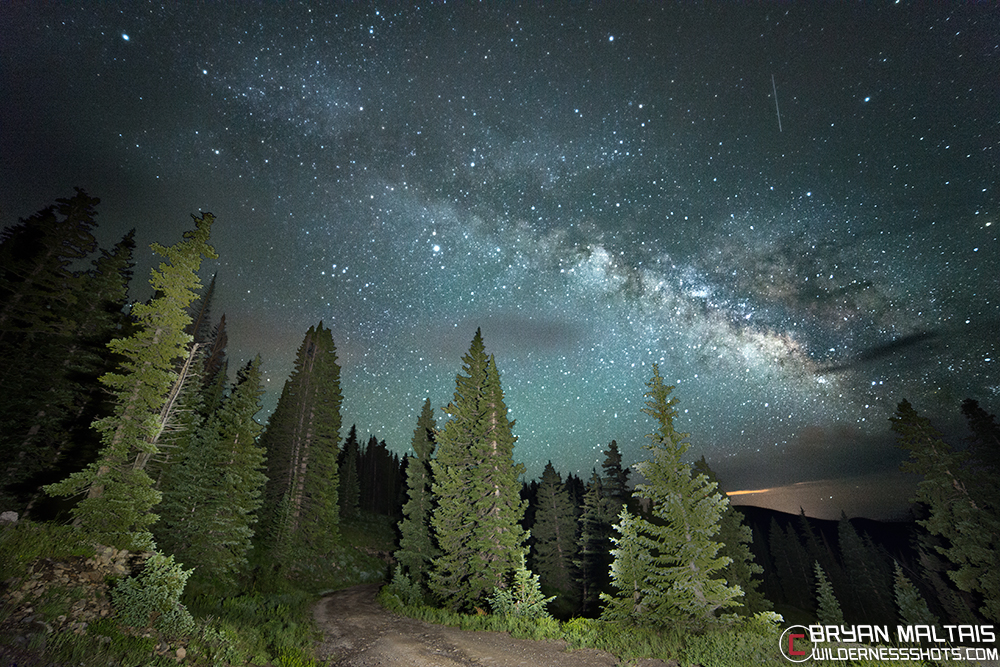 Milky Way Forest Road Lake Irwin Crested Butte