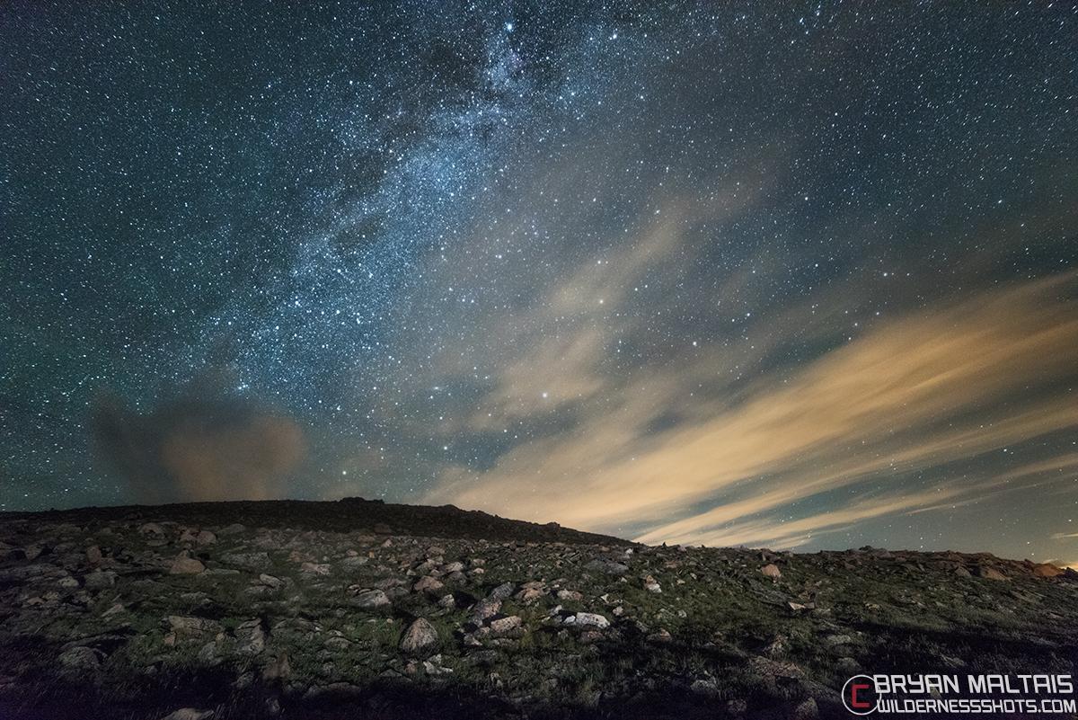 Alpine Tundra Milky Way Colorado