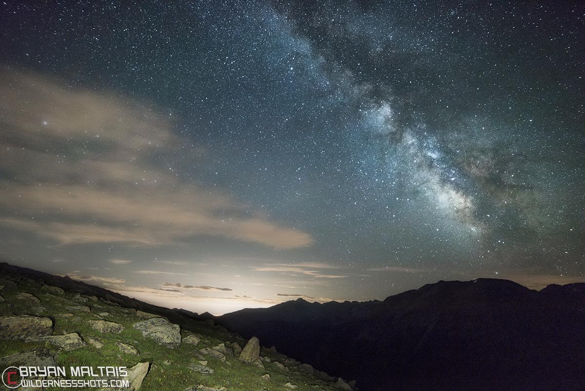 Gore Range Milky Way RMNP