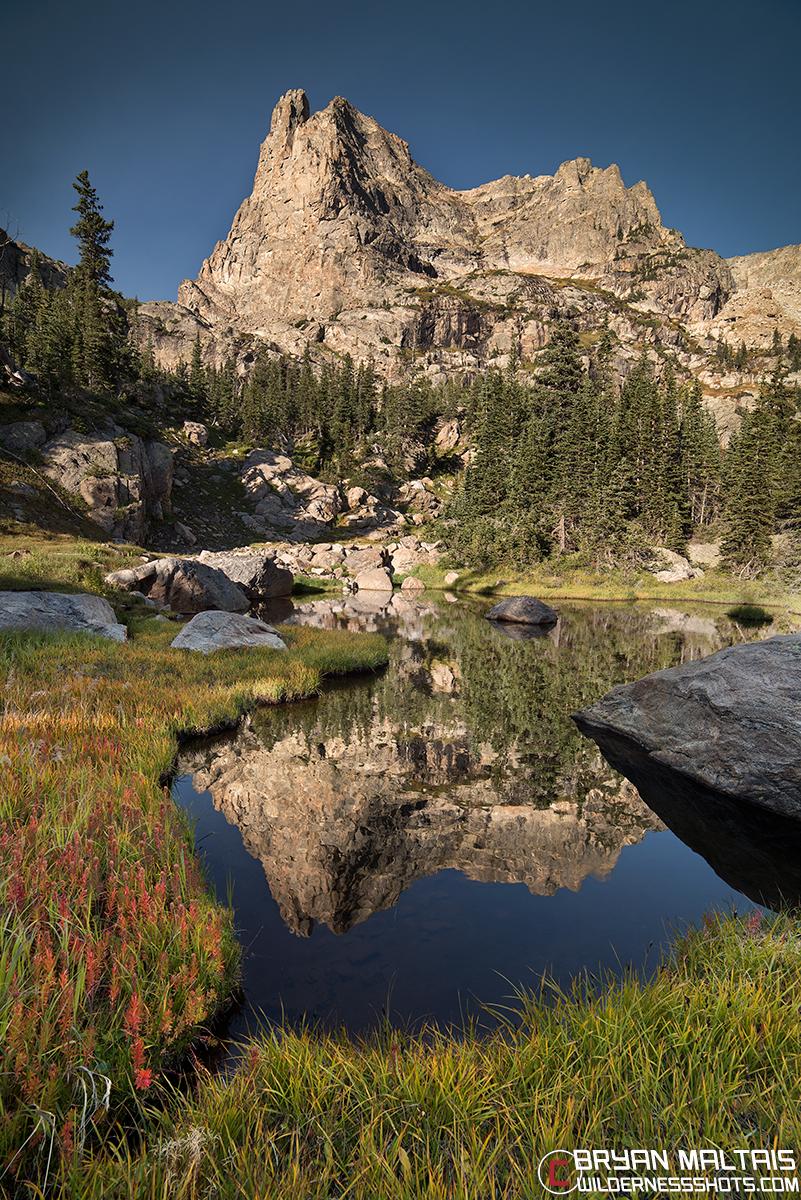 Notchtop Mountain RMNP Colorado