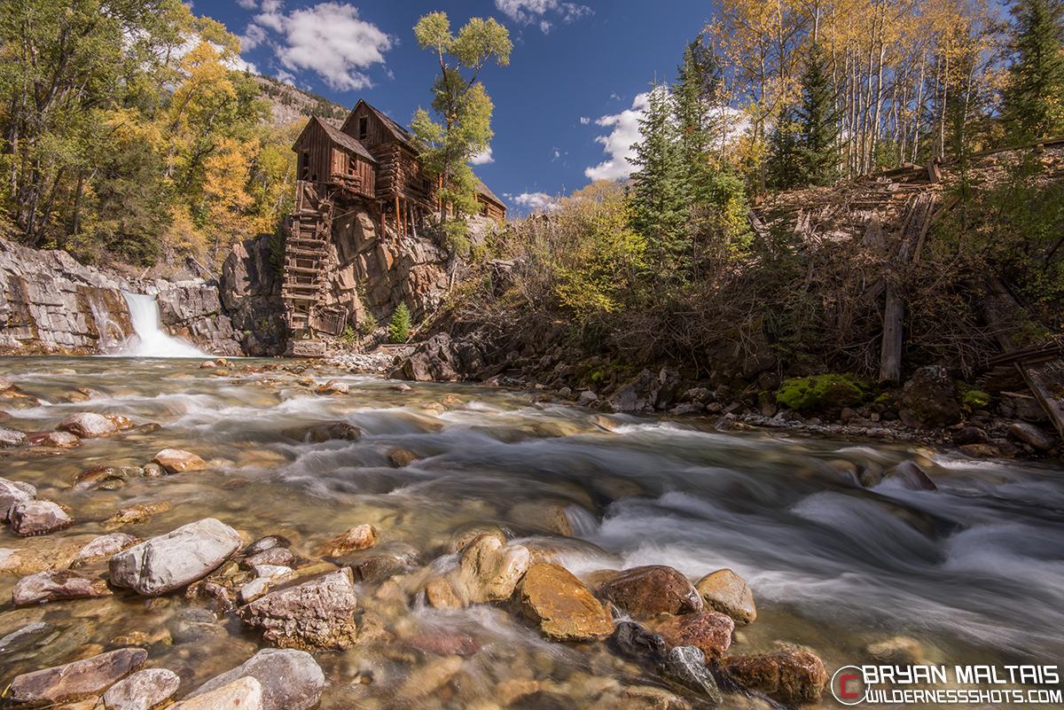 Old Crystal Mill Colorado
