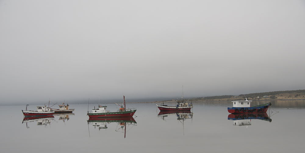 Puerto Natales fishing boats