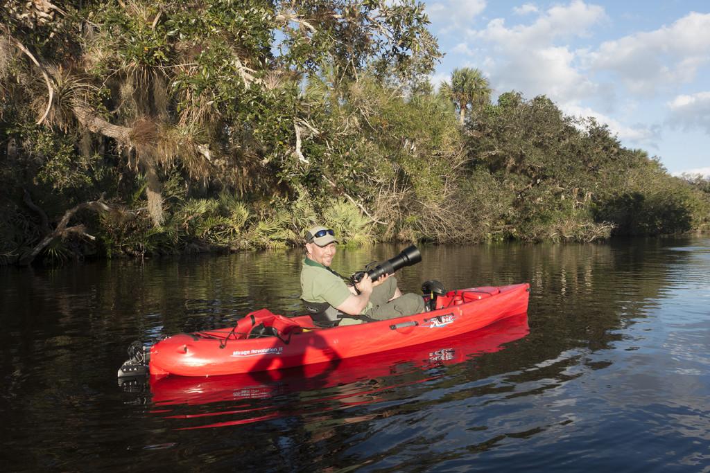 florida mangrove kayak photography