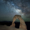 Delicate Arch Milky Way Photos