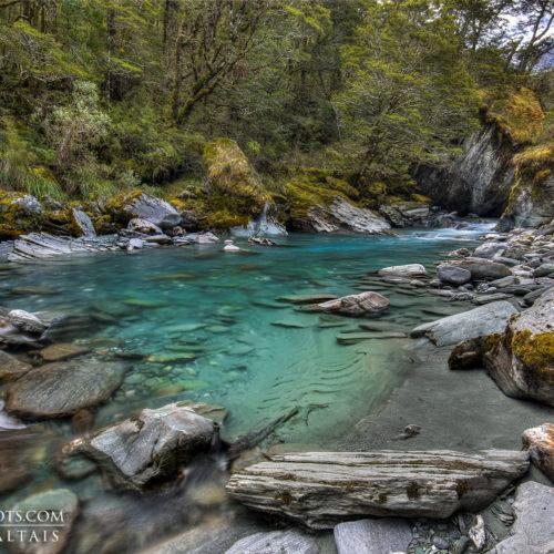 Rob Roy Stream New Zealand Landscape Photography