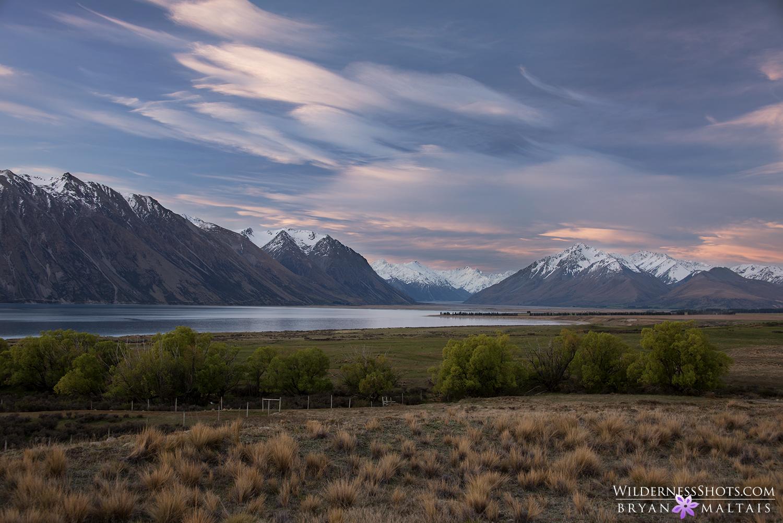 lake tekapo blue hour new zealand landscape photography