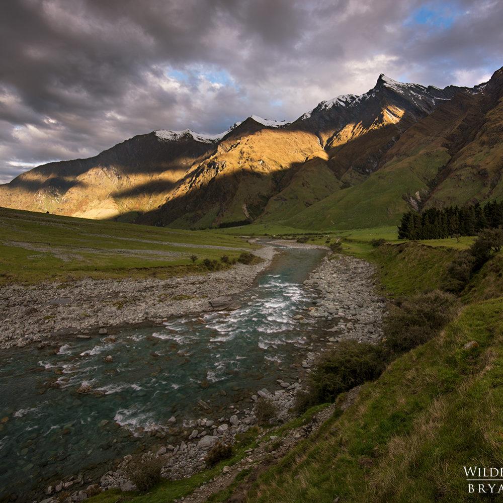otago mountains sunset new zealand landscape photography