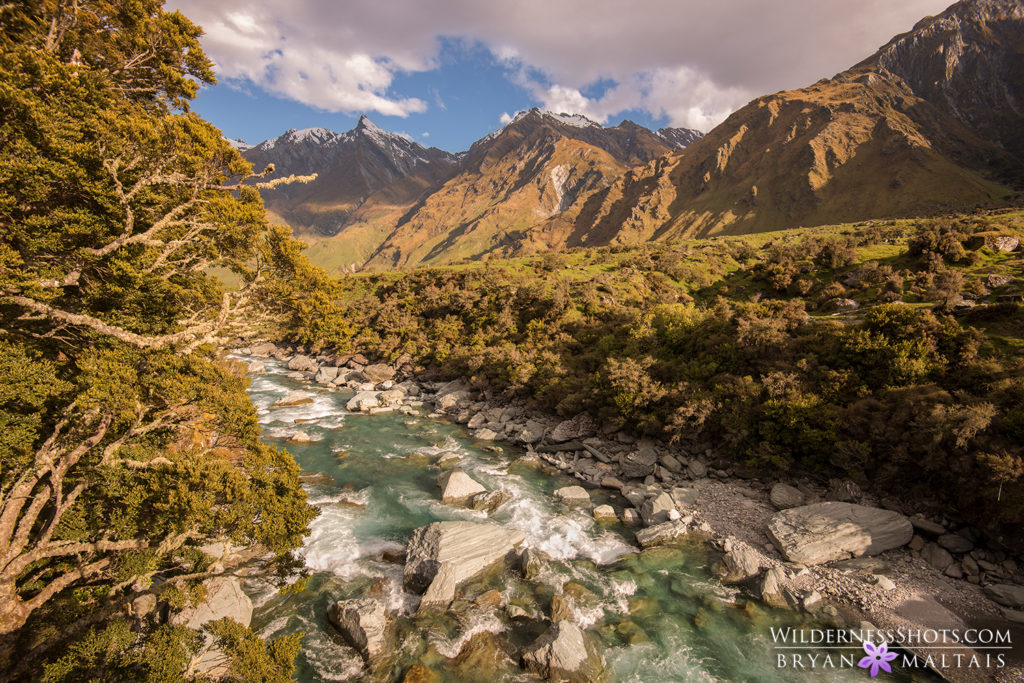 rob roy river new zealand landscape photography