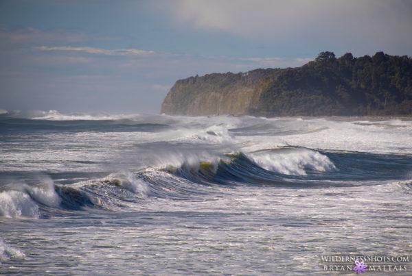 west coast waves new zealand landscape photography