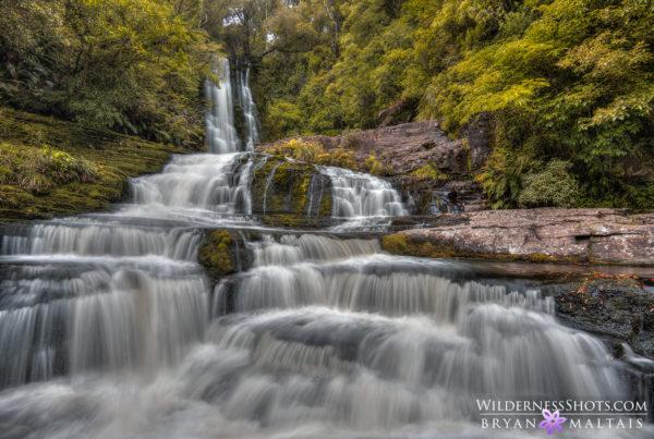 Cascade Waterfall New Zealand Landscape Photos