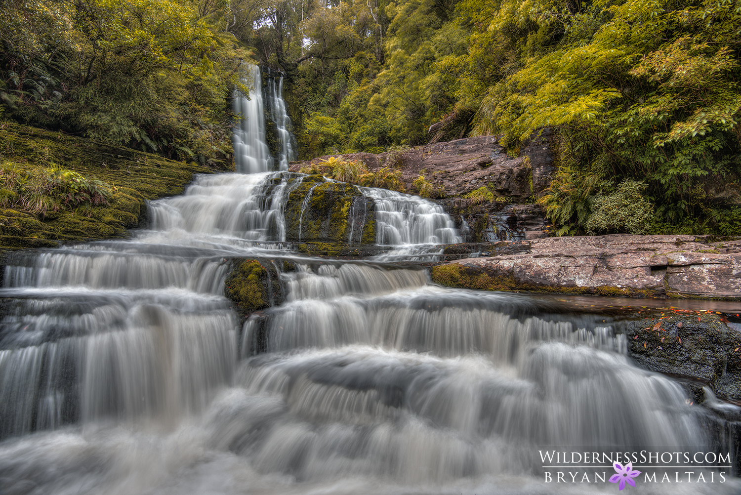 Cascade waterfall new zealand for Landscape photos