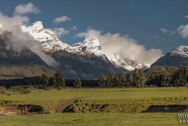 Isengard Paradise Panoramic New Zealand Photography
