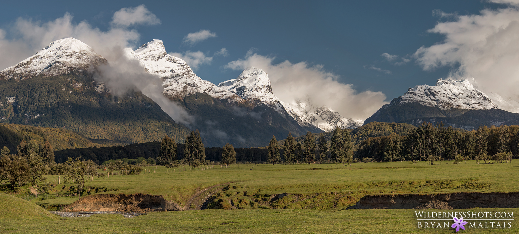 Isengard Paradise Panoramic New Zealand Photography