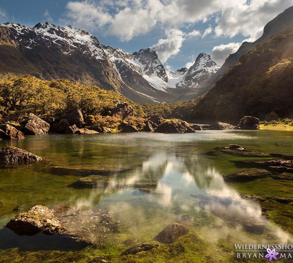 Lake MacKenzie Routeburn Track New Zealand Photography